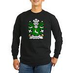 Coetmor Family Crest Long Sleeve Dark T-Shirt