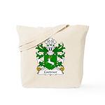 Coetmor Family Crest Tote Bag