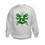 Coetmor Family Crest Kids Sweatshirt