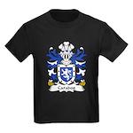 Caradog Family Crest Kids Dark T-Shirt