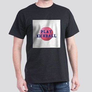 Play Kickball Dark T-Shirt