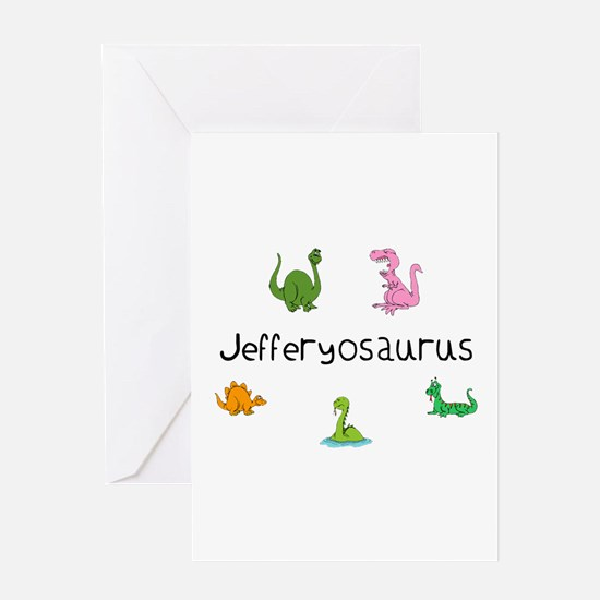Jefferyosaurus Greeting Card