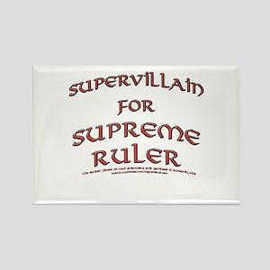 Supervillain for Supreme Ruler Rectangle Magnet