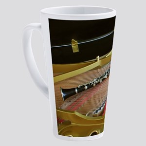 ClarinetinPiano 17 oz Latte Mug
