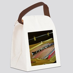 ClarinetinPiano Canvas Lunch Bag