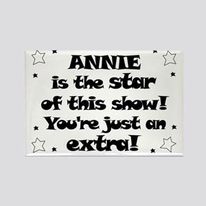 Annie is the Star Rectangle Magnet