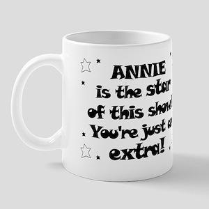 Annie is the Star Mug