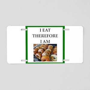 bagel Aluminum License Plate