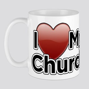 Love Church Mug