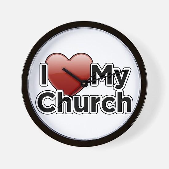 Love Church Wall Clock