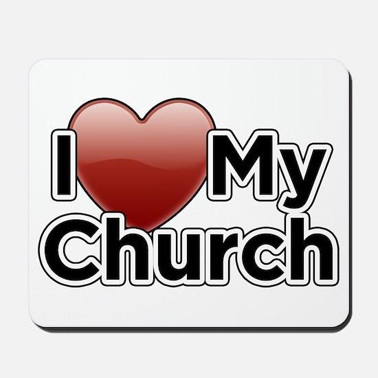 Love Church Mousepad