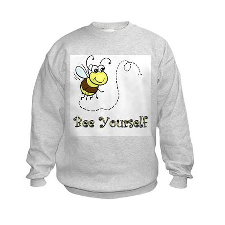 Bee Yourself Kids Sweatshirt