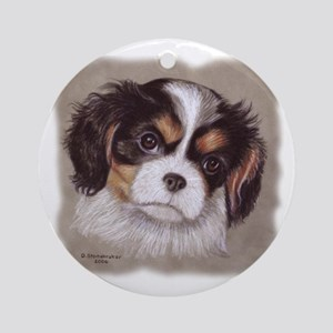 Cavalier King Charles Spaniels Ornament (Round)