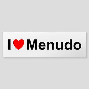 Menudo Sticker (Bumper)