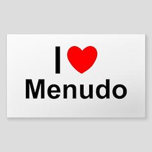 Menudo Sticker (Rectangle)