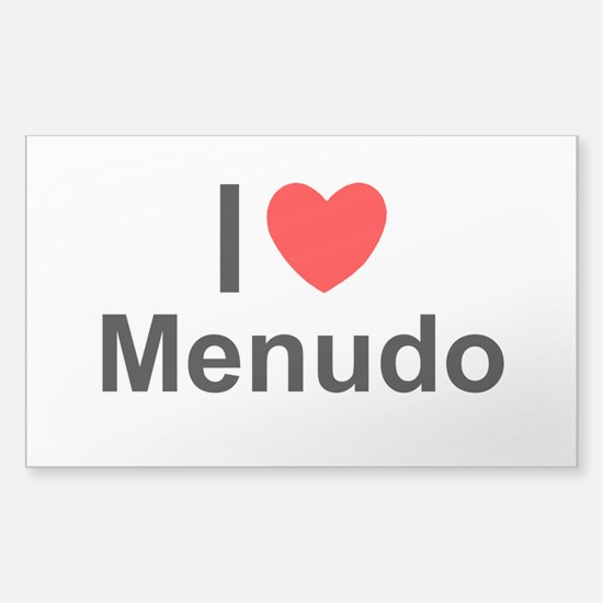 Menudo Sticker (Rectangle)