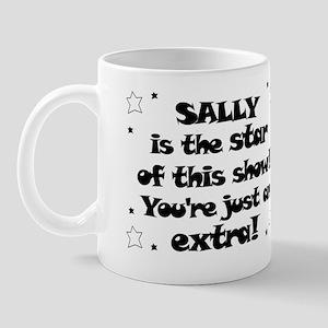 Sally is the Star Mug