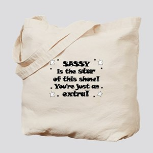 Sassy is the Star Tote Bag
