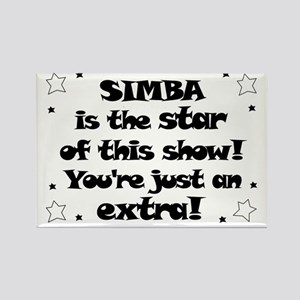 Simba is the Star Rectangle Magnet