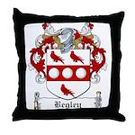 Begley Family Crest Throw Pillow