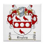 Begley Family Crest Tile Coaster