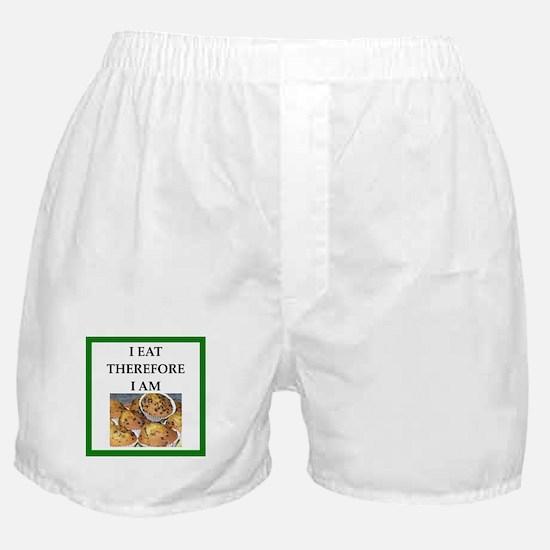 Funny breakfast joke Boxer Shorts