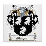 Blayney Family Crest Tile Coaster