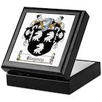 Blayney Family Crest Keepsake Box