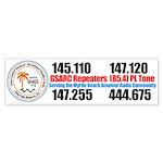GSARC Bumper Sticker