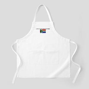 I LOVE MY SOUTH AFRICAN BOYFR BBQ Apron