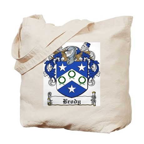 Brody Family Crest Tote Bag