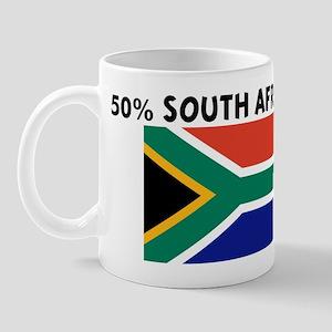 50 PERCENT SOUTH AFRICAN Mug