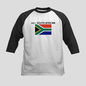 50 PERCENT SOUTH AFRICAN Kids Baseball Jersey