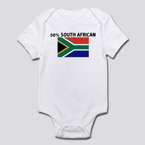 50 PERCENT SOUTH AFRICAN Infant Bodysuit
