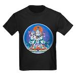 Buddha with Consort Kids Dark T-Shirt
