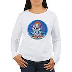 Buddha with Consort Women's Long Sleeve T-Shirt