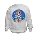 Buddha with Consort Kids Sweatshirt