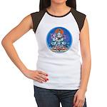 Buddha with Consort Women's Cap Sleeve T-Shirt