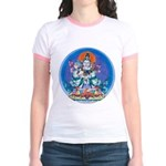 Buddha with Consort Jr. Ringer T-Shirt