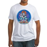 Buddha with Consort Fitted T-Shirt