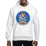 Buddha with Consort Hooded Sweatshirt