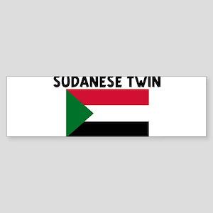 SUDANESE TWIN Bumper Sticker
