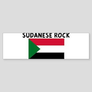 SUDANESE ROCK Bumper Sticker