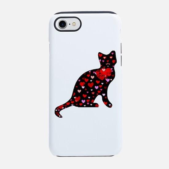 Cat Love iPhone 8/7 Tough Case