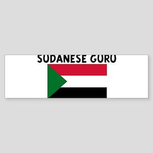 SUDANESE GURU Bumper Sticker