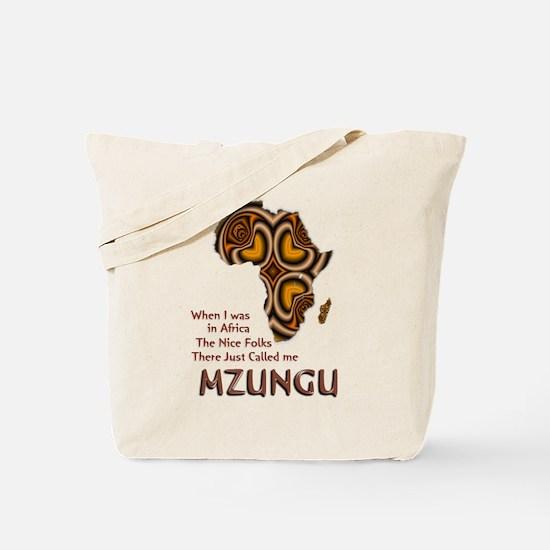 Mzungu - Tote Bag