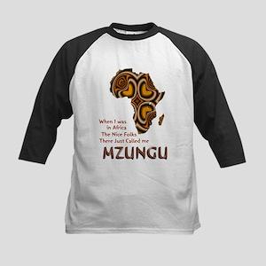 Mzungu - Kids Baseball Jersey