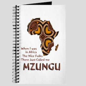 Mzungu - Journal
