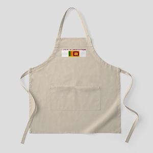 I LOVE MY SRI LANKAN BOYFRIEN BBQ Apron