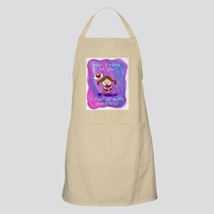 When I Think of You BBQ Apron